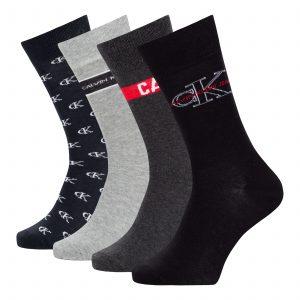 Calvin Klein ponožky 4p 7100004808
